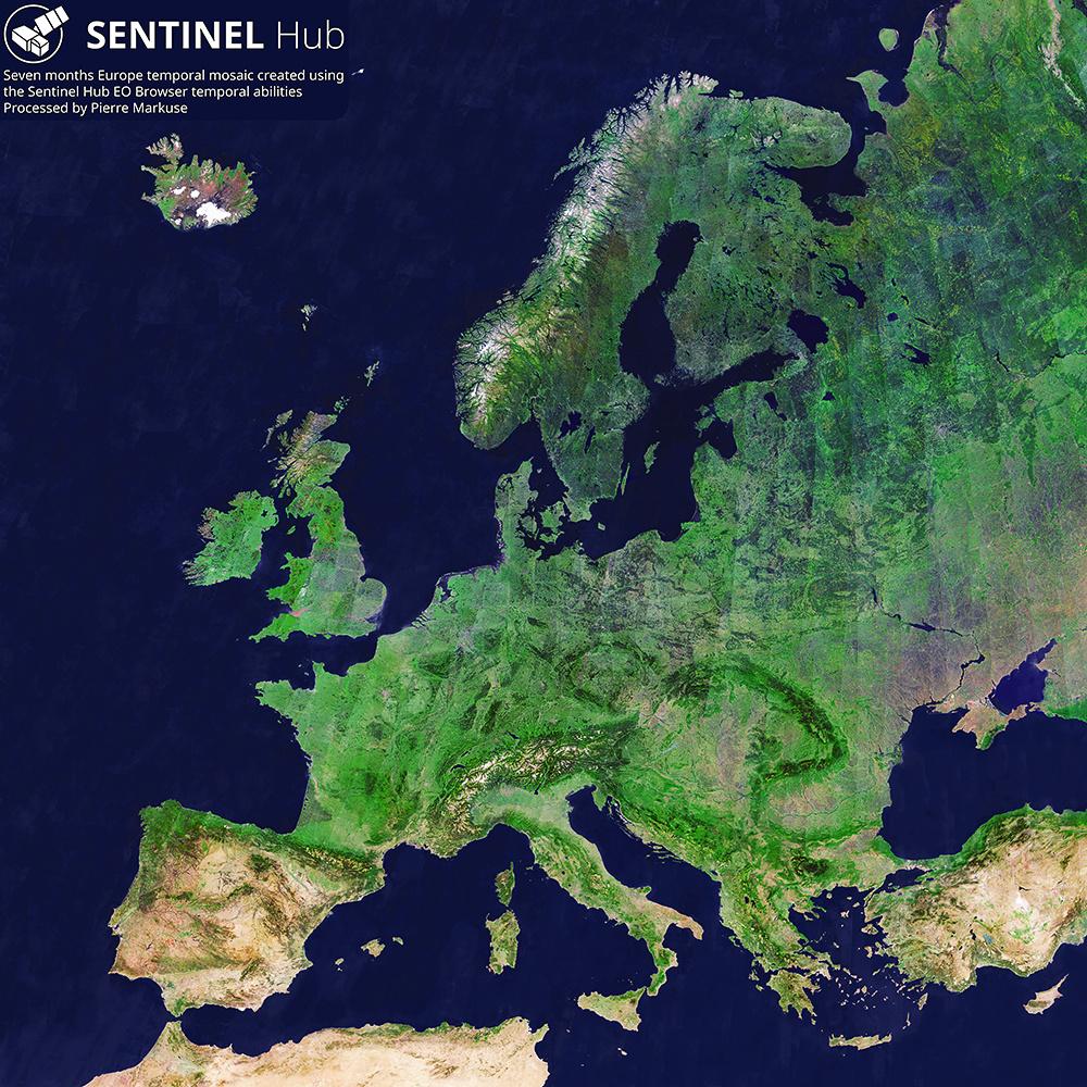 Europe Temporal Mosaic