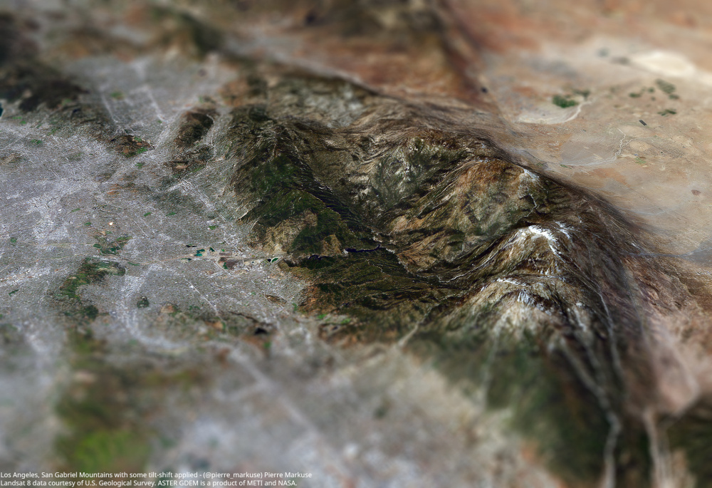 Los Angeles and San Gabriel Mountains