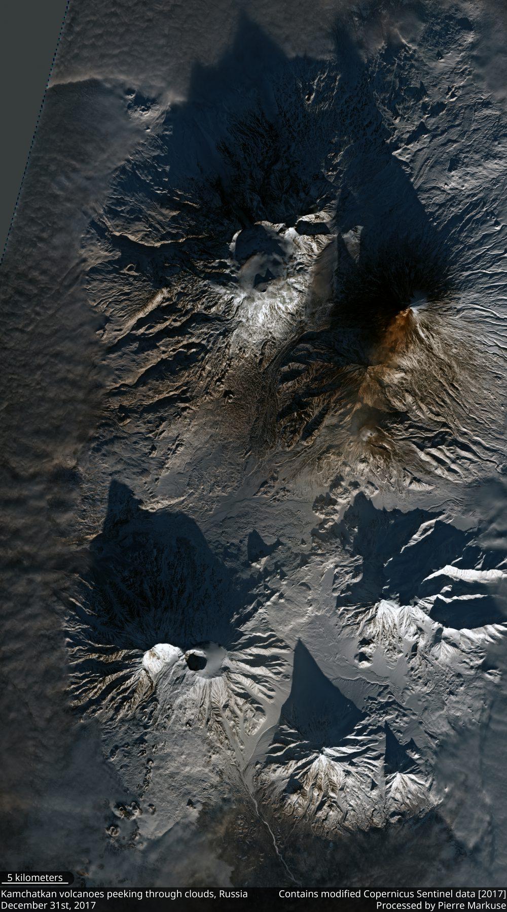 Kamchatkan volcanoes