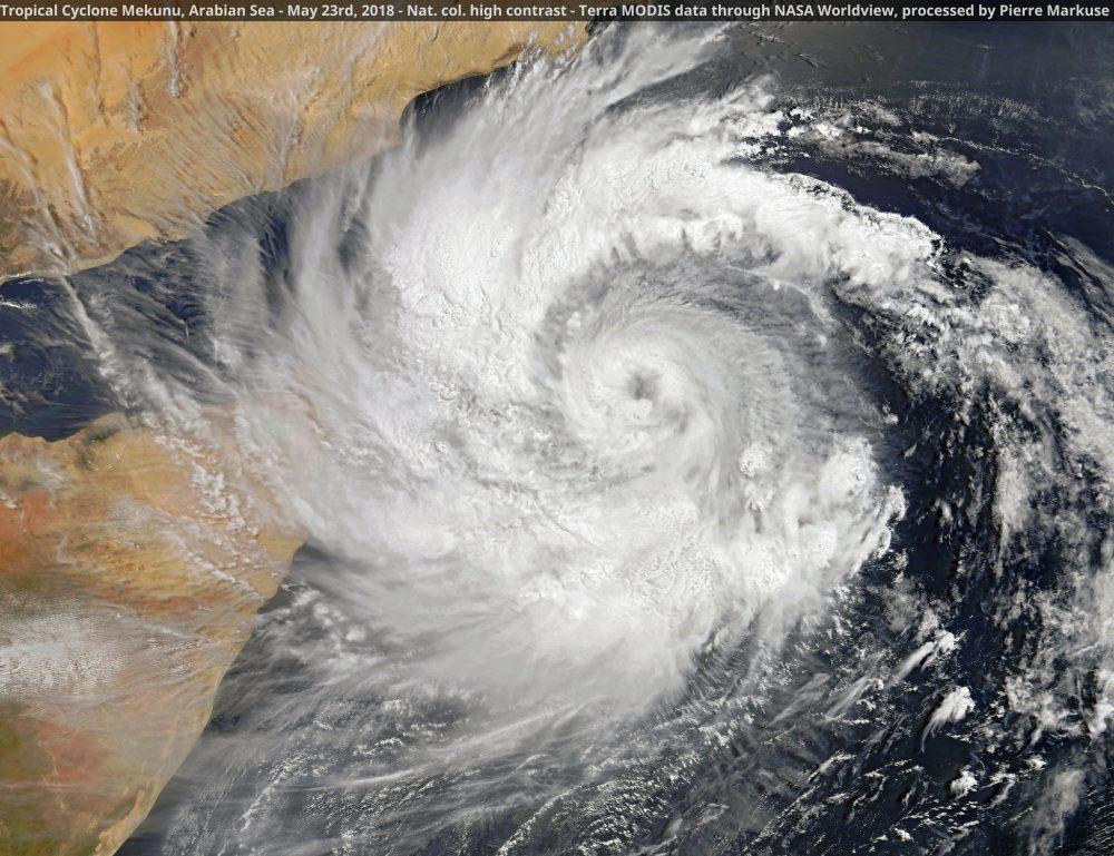 Tropical Cyclone Mekunu