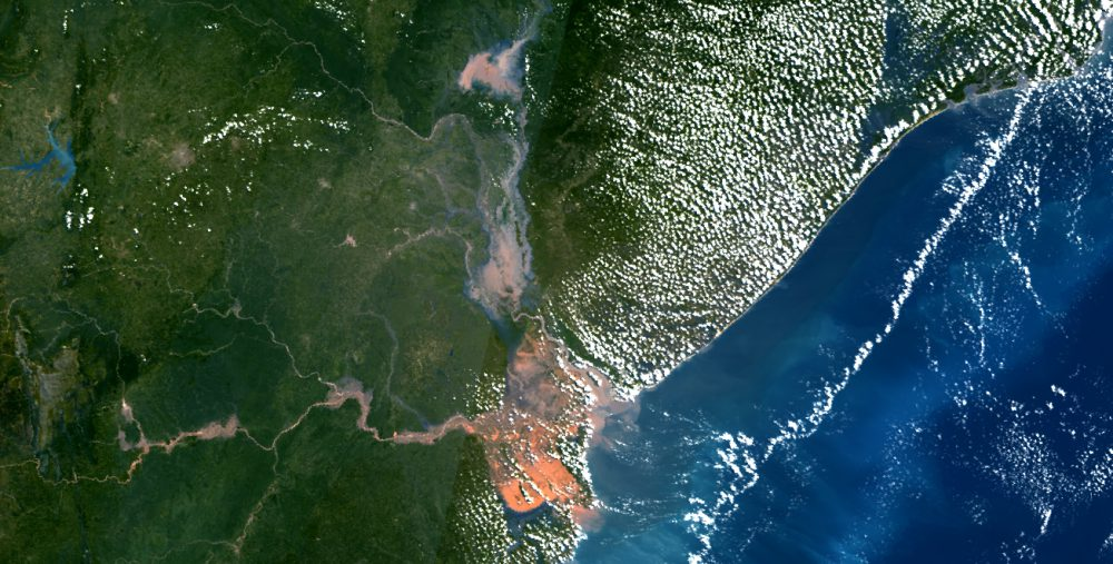 Sentinel-3 image of Beira, Mozambique