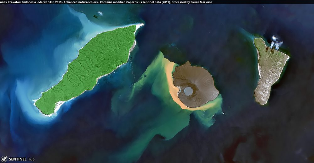 Anak Krakatau, Indonesia Copernicus/Pierre Markuse