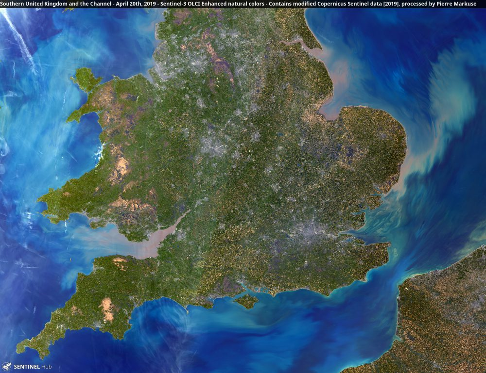 Southern United Kingdom and the Channel Copernicus/Pierre Markuse