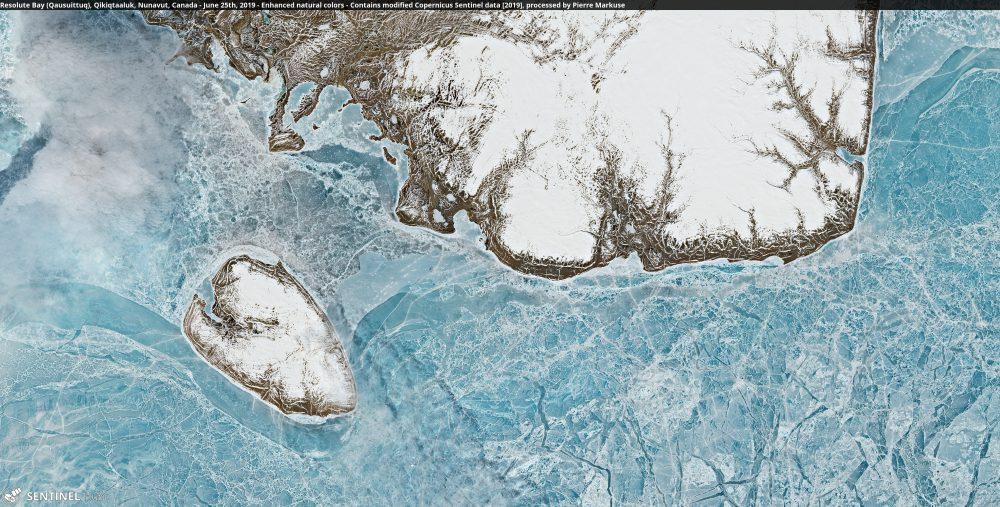 Resolute Bay (Qausuittuq), Qikiqtaaluk, Nunavut, Canada Copernicus/Pierre Markuse
