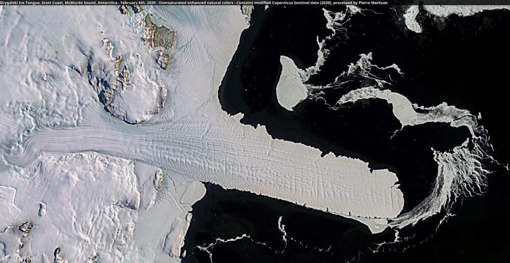 Drygalski Ice Tongue, Scott Coast, McMurdo Sound, Antarctica - February 6th, 2020 Copernicus/Pierre Markuse